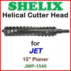 SHELIX for JET 15'' Planer, JWP 1540