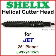 SHELIX for JET 25'' Planer, JWP-24 HWG