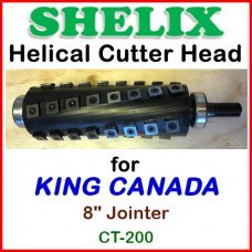 SHELIX for KING CANADA 8'' Jointer, CT-200