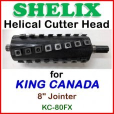 SHELIX for KING CANADA 8'' Jointer, KC-80FX