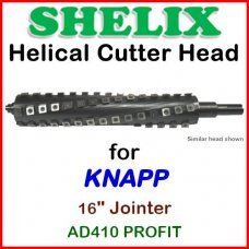 SHELIX for KNAPP 16'' Jointer, AD410 PROFI T
