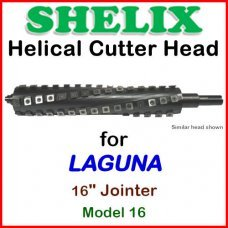 SHELIX for LAGUNA 16'' Jointer, Model 16