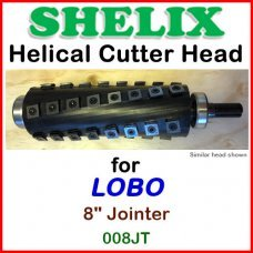 SHELIX for LOBO 8'' Jointer, 008JT