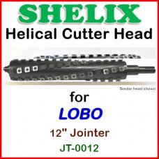 SHELIX for LOBO 12'' Jointer, JT-0012