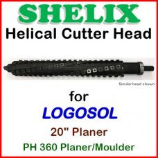 SHELIX for LOGOSOL 12'' Planer, P260 COMBO (BOTTOM)