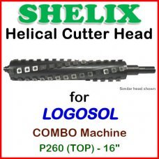 SHELIX for LOGOSOL 16'' Planer, P260 COMBO (TOP)