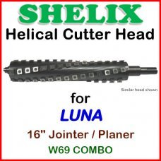 SHELIX for LUNA 16'' Planer, W69 COMBO