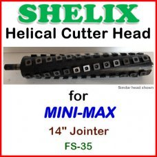 SHELIX for MINI-MAX 14'' Jointer, FS-35