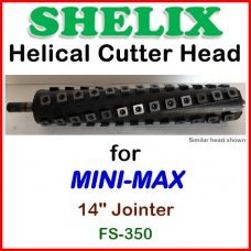 SHELIX for MINI-MAX 14'' Jointer, FS-350