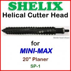 SHELIX for MINI-MAX 20'' Planer, SP-1