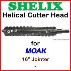 SHELIX for MOAK 16'' Jointer