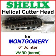 SHELIX for Montgomery 6'' Jointer, WARD (bored)