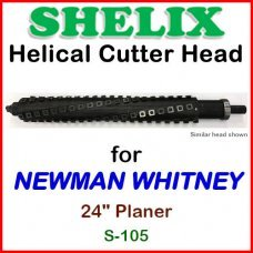 SHELIX for NEWMAN WHITNEY 24'' Planer, S-105