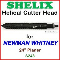 SHELIX for NEWMAN WHITNEY 24'' Planer, S248