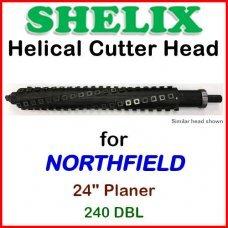 SHELIX for NORTHFIELD 24'' Planer, 240 DBL