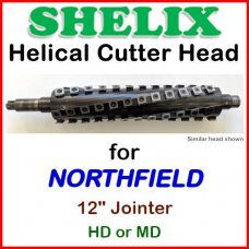 SHELIX for NORTHFIELD 12'' Jointer, HD or MD or LD