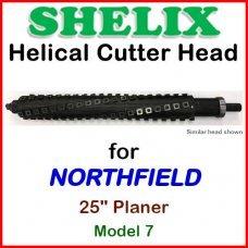 SHELIX for NORTHFIELD 24'' Planer, Model 7