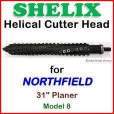 SHELIX for NORTHFIELD 31'' Planer, Model 8