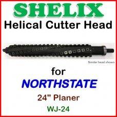 SHELIX for NORTHSTATE 24'' Planer, WJ-24
