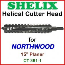 SHELIX for NORTHWOOD 15'' Planer, CT-381-1