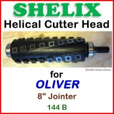 SHELIX for OLIVER 8'' Jointer, 144 B
