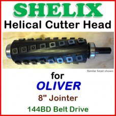 SHELIX for OLIVER 8'' Jointer, 144BD Belt Drive