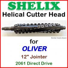SHELIX for OLIVER 12'' Jointer, 2061 Direct Drive