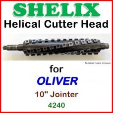 SHELIX for OLIVER 10'' Jointer, 4240