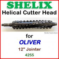 SHELIX for OLIVER 12'' Jointer, 4255