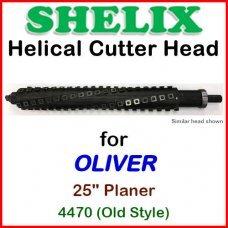 SHELIX for OLIVER 25'' Planer, 4470 (OLD STYLE)
