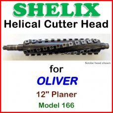 SHELIX for OLIVER 12'' Jointer, Model 166