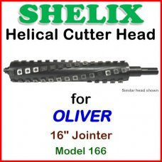 SHELIX for OLIVER 16'' Jointer, Model 166