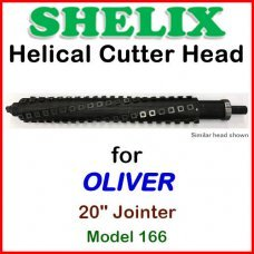 SHELIX for OLIVER 20'' Jointer, Model 166