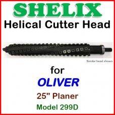 SHELIX for OLIVER 25'' Planer, Model 299D