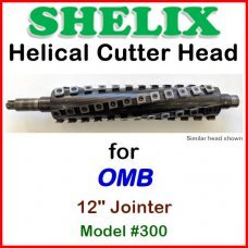 SHELIX for OMB 12'' Jointer, Model #300
