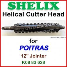 SHELIX for POITRAS 12'' Jointer, K08 83 628