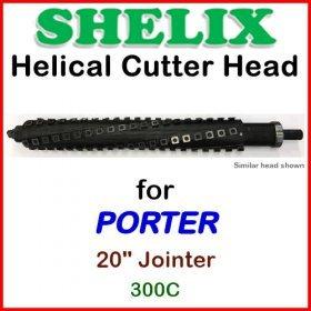 SHELIX for PORTER 20'' Jointer, 300C