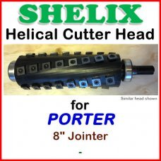 SHELIX for PORTER 8'' Jointer
