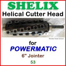 SHELIX for POWERMATIC 6'' Jointer, 53