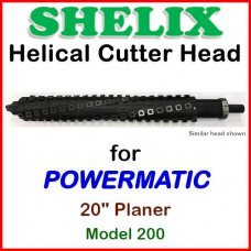 SHELIX for POWERMATIC 20'' Planer, Model 200