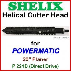 SHELIX for POWERMATIC 20'' Planer, P221D (DIRECT DRIVE)