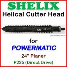 SHELIX for POWERMATIC 24'' Planer, P225 (Direct Drive)