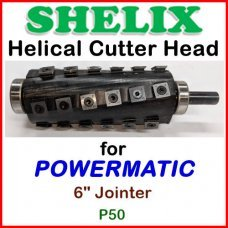 SHELIX for POWERMATIC 6'' Jointer, P50