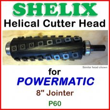 SHELIX for POWERMATIC 8'' Jointer, Model 60
