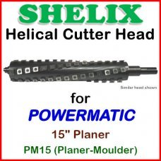 SHELIX for POWERMATIC 15'' Planer, PM15 (Planer-Moulder)