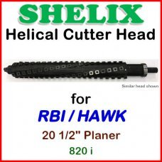 SHELIX for RBI 20 1/2'' Planer, 820 i