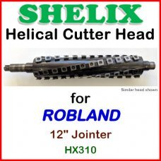 SHELIX for ROBLAND 12'' Jointer, HX310