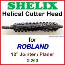 SHELIX for ROBLAND 10'' Planer, X-260 Jointer-Planer