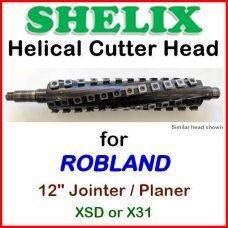 SHELIX for ROBLAND 12'' Planer, XSD or X31 Jointer-Planer