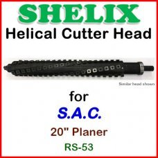 SHELIX for S.A.C. 20'' Planer, RS-53